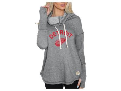 Detroit Red Wings NHL Women's Glitter Pullover Sweatshirt