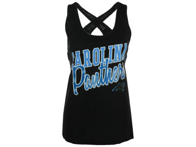 Carolina Panthers GIII NFL Women's Crossback Tank