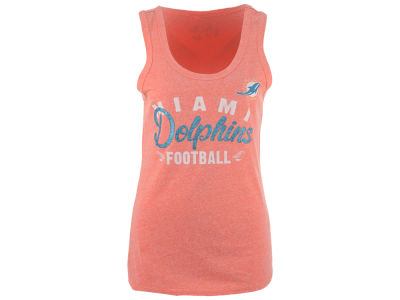 Miami Dolphins G-III Sports NFL Women's Playoff Scoop Tank