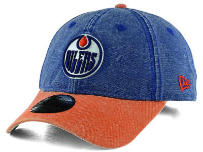 Edmonton Oilers New Era NHL Rugged Canvas 9TWENTY Strapback Cap