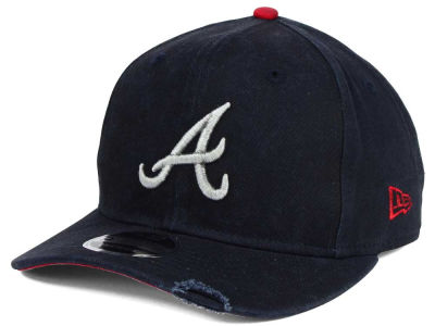 Atlanta Braves MLB Team Rustic 9FIFTY Snapback Cap