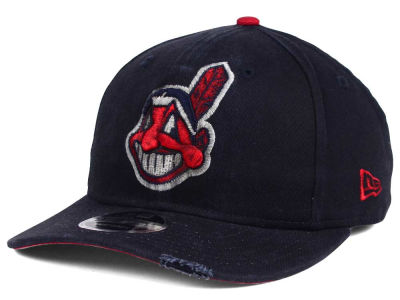 Cleveland Indians MLB Team Rustic 9FIFTY Snapback Cap