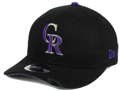 Colorado Rockies New Era MLB Team Rustic 9FIFTY Snapback Cap