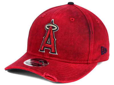 Los Angeles Angels MLB Team Rustic 9FIFTY Snapback Cap