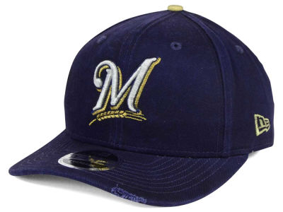 Milwaukee Brewers MLB Team Rustic 9FIFTY Snapback Cap