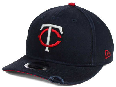 Minnesota Twins MLB Team Rustic 9FIFTY Snapback Cap