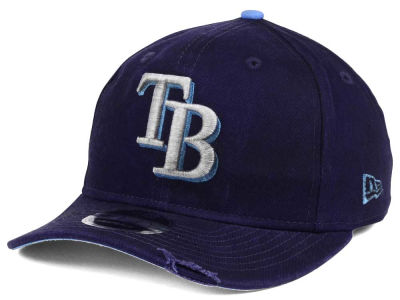 Tampa Bay Rays MLB Team Rustic 9FIFTY Snapback Cap