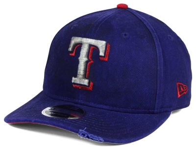 Texas Rangers MLB Team Rustic 9FIFTY Snapback Cap