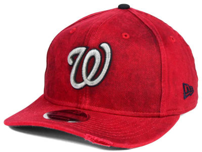Washington Nationals MLB Team Rustic 9FIFTY Snapback Cap