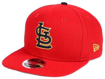 St. Louis Cardinals New Era MLB Gold Flip 9FIFTY Snapback Cap