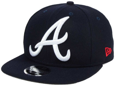 Atlanta Braves MLB Logo Grand 9FIFTY Snapback Cap