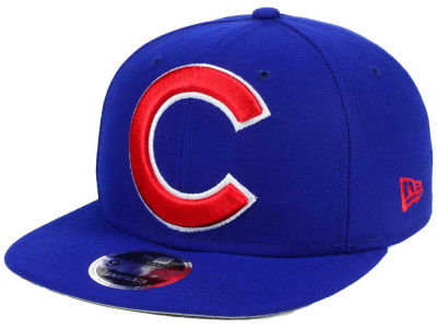Chicago Cubs MLB Logo Grand 9FIFTY Snapback Cap