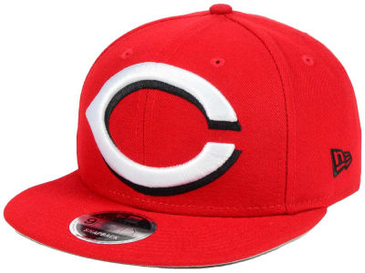 Cincinnati Reds MLB Logo Grand 9FIFTY Snapback Cap