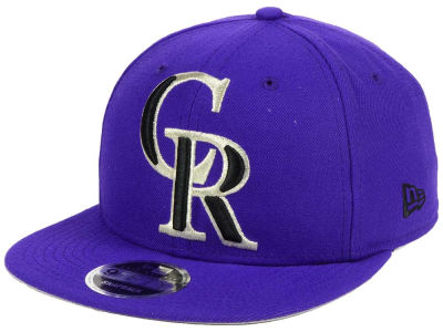 Colorado Rockies MLB Logo Grand 9FIFTY Snapback Cap
