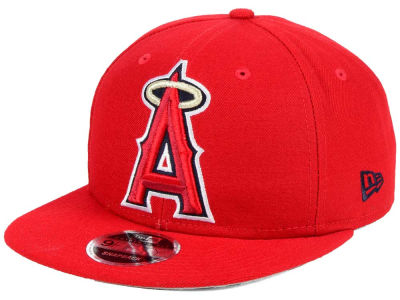 Los Angeles Angels MLB Logo Grand 9FIFTY Snapback Cap