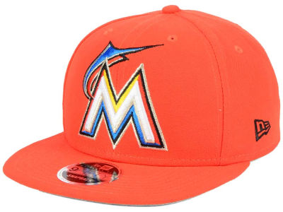 Miami Marlins MLB Logo Grand 9FIFTY Snapback Cap