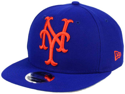New York Mets MLB Logo Grand 9FIFTY Snapback Cap