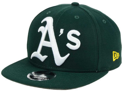 Oakland Athletics MLB Logo Grand 9FIFTY Snapback Cap