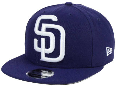 San Diego Padres MLB Logo Grand 9FIFTY Snapback Cap