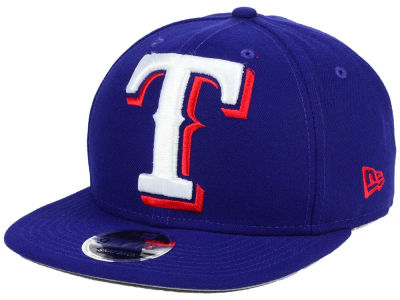 Texas Rangers MLB Logo Grand 9FIFTY Snapback Cap