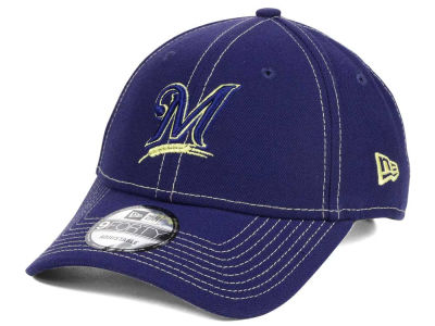 Milwaukee Brewers New Era MLB The League Classic 9FORTY Adjustable Cap