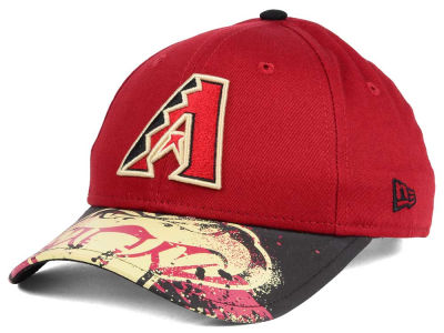 Arizona Diamondbacks NCAA Youth Splatter Vize Snapback Cap