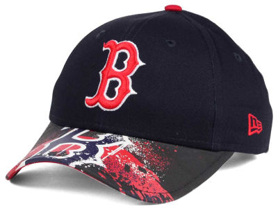 Boston Red Sox NCAA Youth Splatter Vize Snapback Cap