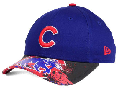 Chicago Cubs NCAA Youth Splatter Vize Snapback Cap