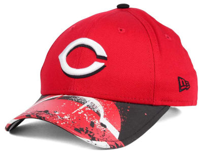 Cincinnati Reds New Era MLB Youth Splatter Vize Snapback Cap
