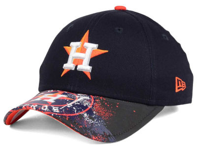 Houston Astros MLB Youth Splatter Vize Snapback Cap