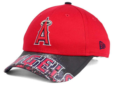 Los Angeles Angels New Era MLB Youth Splatter Vize Snapback Cap