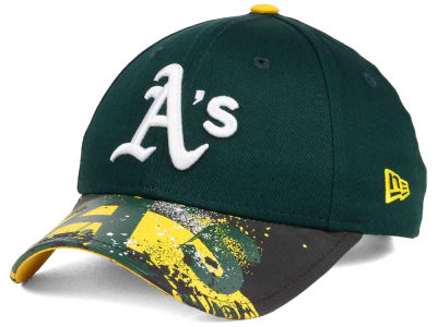 Oakland Athletics NCAA Youth Splatter Vize Snapback Cap