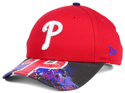 Philadelphia Phillies NCAA Youth Splatter Vize Snapback Cap