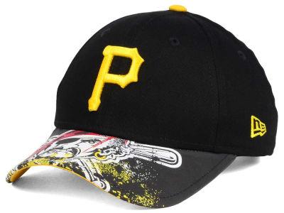 Pittsburgh Pirates NCAA Youth Splatter Vize Snapback Cap