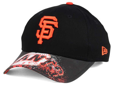 San Francisco Giants NCAA Youth Splatter Vize Snapback Cap