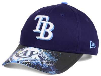 Tampa Bay Rays New Era MLB Youth Splatter Vize Snapback Cap
