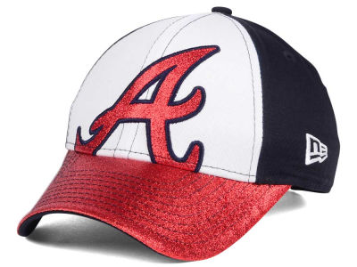 Atlanta Braves New Era MLB Youth Shimmer Shine Adjustable Cap