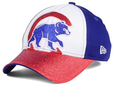 Chicago Cubs MLB Youth Shimmer Shine Adjustable Cap