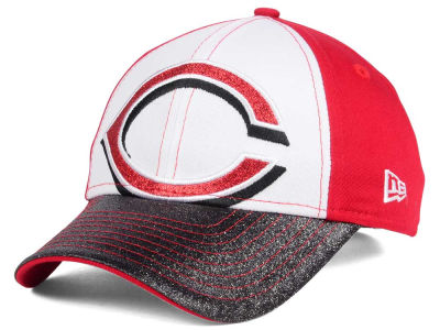 Cincinnati Reds New Era MLB Youth Shimmer Shine Adjustable Cap