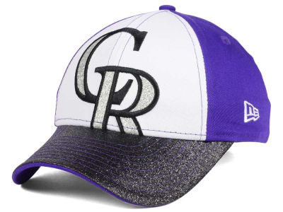 Colorado Rockies MLB Youth Shimmer Shine Adjustable Cap