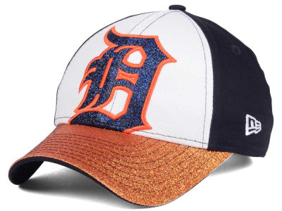 Detroit Tigers MLB Youth Shimmer Shine Adjustable Cap