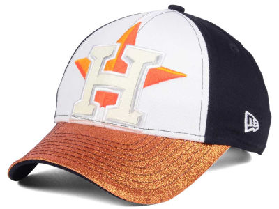 Houston Astros MLB Youth Shimmer Shine Adjustable Cap