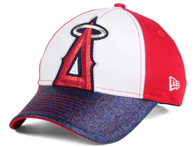 Los Angeles Angels New Era MLB Youth Shimmer Shine Adjustable Cap
