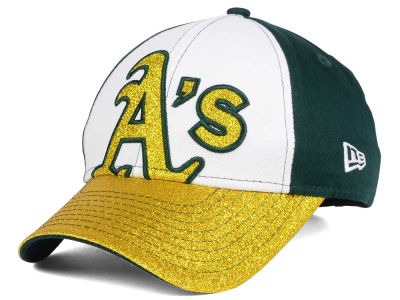 Oakland Athletics New Era MLB Youth Shimmer Shine Adjustable Cap