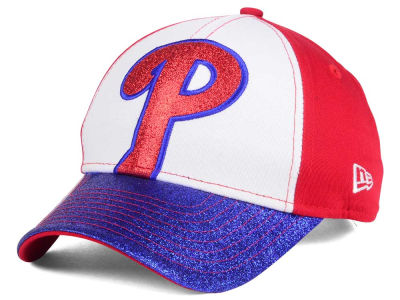 Philadelphia Phillies New Era MLB Youth Shimmer Shine Adjustable Cap
