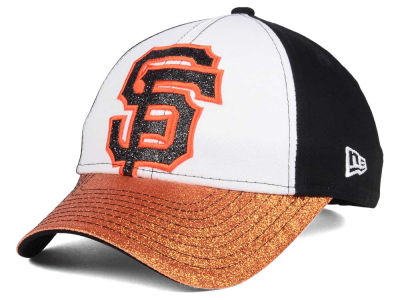 San Francisco Giants New Era MLB Youth Shimmer Shine Adjustable Cap