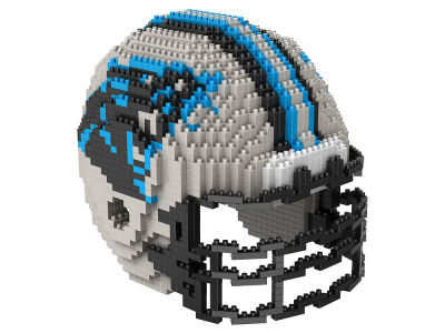 Carolina Panthers BRXLZ 3D Helmet Puzzle