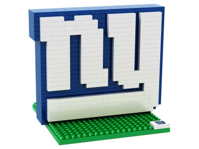 New York Giants BRXLZ 3D Logo Puzzle