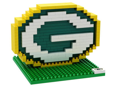 Green Bay Packers BRXLZ 3D Brxlz- Logo