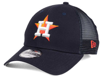 Houston Astros MLB Team Trucker Patch 9FORTY Snapback Cap